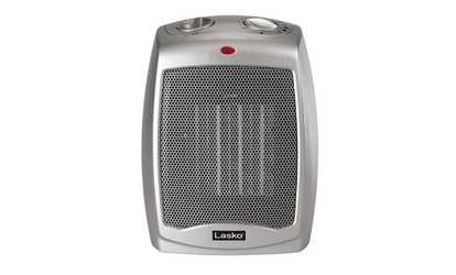 Shop Groupon Lasko 754200 Ceramic Heater With Adjustable Thermostat