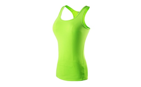 Like1 Women's Compression Base Layer Dry Fit Tank Top cca04d83-7728-426c-90e6-292d671fb9f1