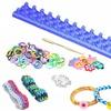 DIY Loom Band Bracelet Making Premium Kit - 600 Rubber Bands