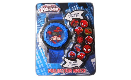 Marvel Ultimate Spiderman Children's Multi Projection Digital Watch 669b29c5-b5aa-41f0-941b-63437db68e29