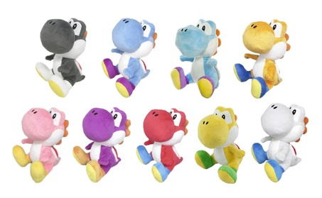 Little Buddy Super Mario Yoshi Plush Toys - 9 Characters Available 55482e5b-bd20-4d36-9588-fffca3f2771d