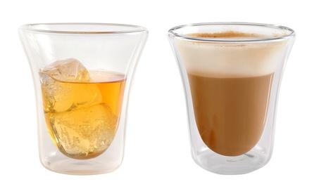 Double Walled Glasses Thermo, Set of 2 Barware, Drinkware, Glassware ea613351-cc65-4da5-960d-e868d5089458