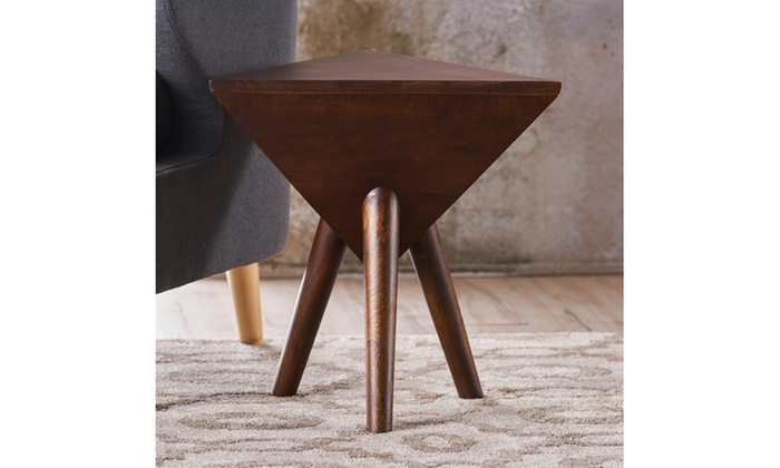 Laro End Table Brown Y 250 Fabric