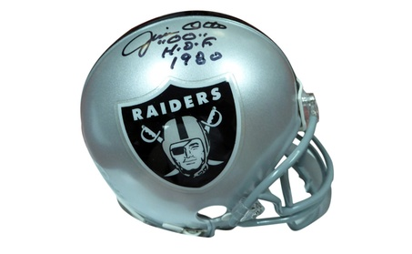 Autographed Jim Otto Oakland Raiders Mini Helmet dcbf6fa5-4b08-4bfe-a5a5-47325ab16c49