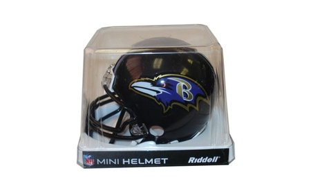 Baltimore Ravens Replica Mini Helmet w/ Z2B Face Mask f8dfce15-5eed-4bfd-a6a4-38586ac820a1