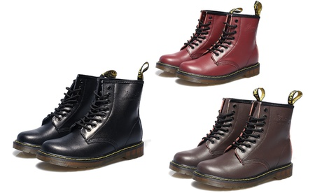 Men and Women Round-Toe Casual Boots