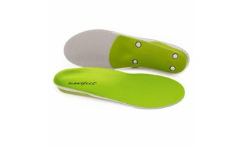 Superfeet Green Insoles, Professional - Grade High Arch Orthotic Insert