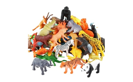 Animals Figure,54 Piece Mini Jungle Animals Toys Set 545ecdea-706f-4990-a62f-560b479b6169