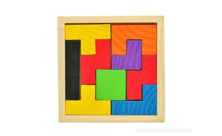Children's Wooden Tetris Jigsaw Puzzle Game Educational Toy 4eb7c09c-2951-4c8d-b9aa-fc5e53f18edb