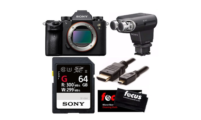 Up To 22% Off on Sony Alpha a9 Full Frame Mirr... | Groupon Goods