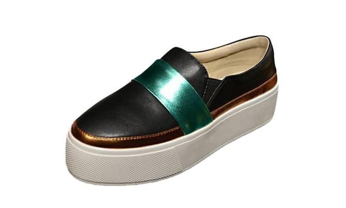 Women's Slip On Platform Sneakers