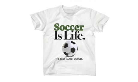 Soccer Is Life. The Rest Is just details. Sports Great Kids Tee bc74af4f-820d-497c-a3b5-2daca2819edb