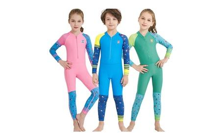 Wetsuit Long Sleeve Pants One Piece Swimsuit For Kids 8d1ef0e0-9b3a-4745-b41d-d0bcd2c1947a