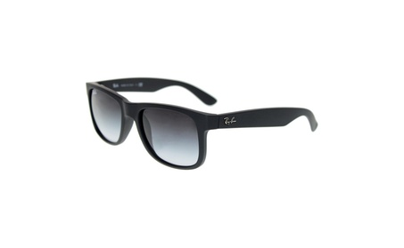 Ray Ban RB4165 55mm Justin New Wayfarer Rectangular Frame (Black) 246d3e1b-20a9-4970-8e86-f41d18265459