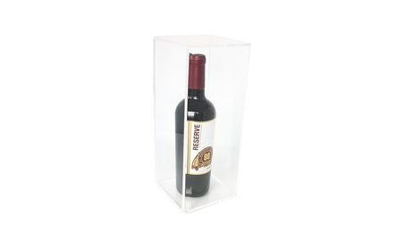 Deluxe Acrylic Wine Bottle Display Case (A017)