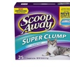 Scoop Away Super Clump with Ammonia Shield, Scented Cat Litter, 25 Pou