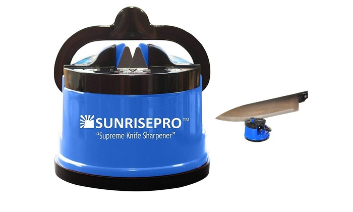 Sunrisepro Supreme Best Kitchen Knife Sharpener For All Blade Types