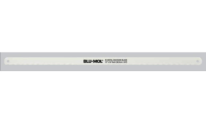 Disston 1224UL-10 Blu-Mol 12 In  24 Tpi Bi-Metal Hack Saw Blade, 10 Pk