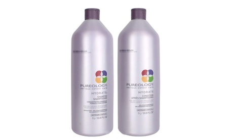 Pureology Hydrate Shampoo and Conditioner Liter Duo