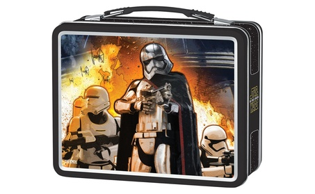 Thermos Metal Lunch Kit, Star Wars Episdoe VII Kylo Ren/Captain Phasma
