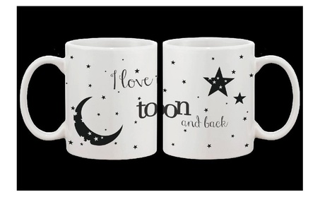 I Love You To The Moon And Back Couple Mugs His And Hers Matching Cup b6d362ea-ee22-4005-8081-e34185bec9a9