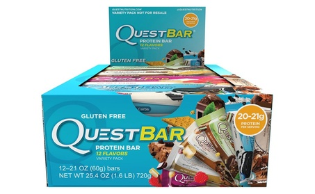 Nutrition Protein Bar, Best Seller Variety Pack, 12 Flavors,