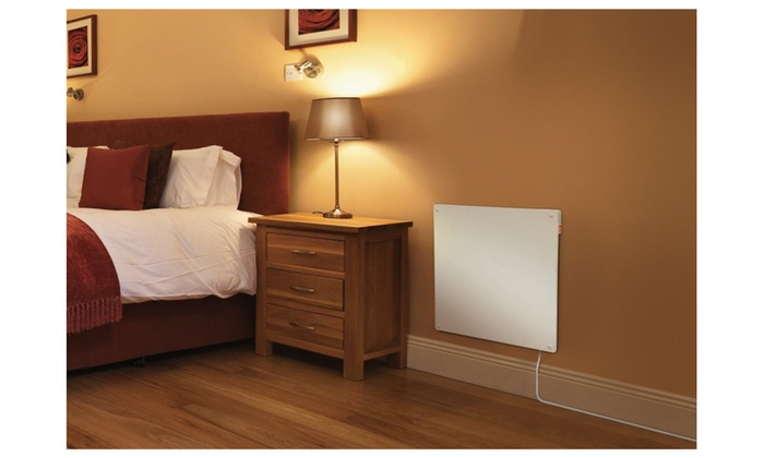 Eco-Heater 400-Watt Wall Mounted Ceramic Space-Saving Heater
