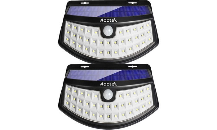 new arrival 4fc34 4f311 Up To 68% Off on 36-LED Solar Lights 3-Optiona... | Groupon ...