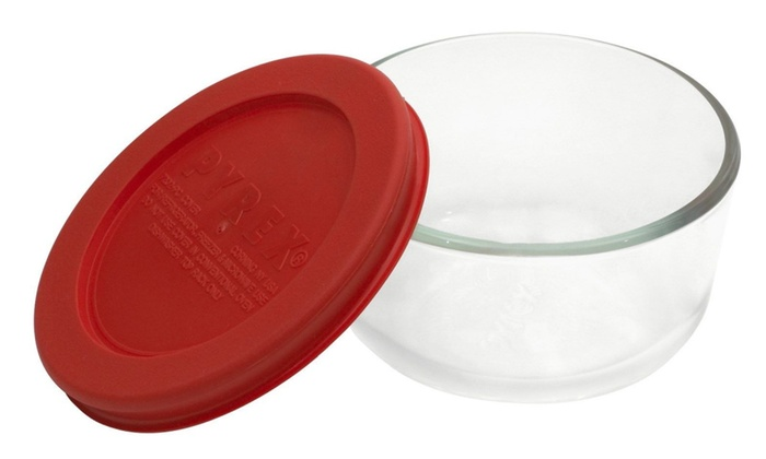 World Kitchen Round Storage Container With Lid 1070791 Pack of 6