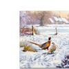 The Macneil Studio 'Winter Pheasants' Canvas Art