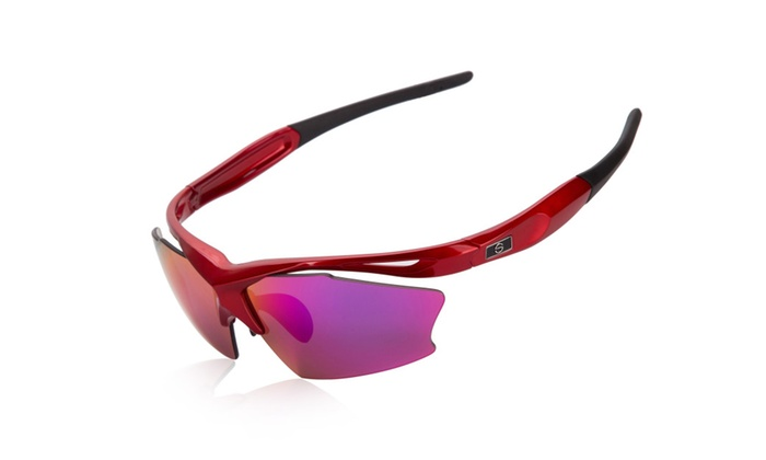Shieldo Polarized Sports Sunglasses For Men And Women SLT001