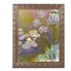 Monet 'Waterlilies and Agapanthus' Ornate Framed Art