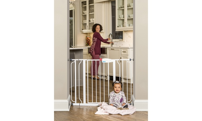 Regalo Easy Step Extra Wide Baby Gate Groupon