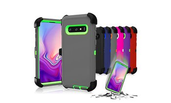 For Samsung Galaxy S10 Plus/ S10E/S10 Protective Shockproof Hybrid Defender Case