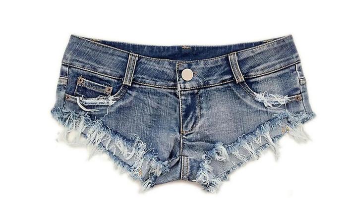 Women Denim Jeans Shorts Mini Hot Pants