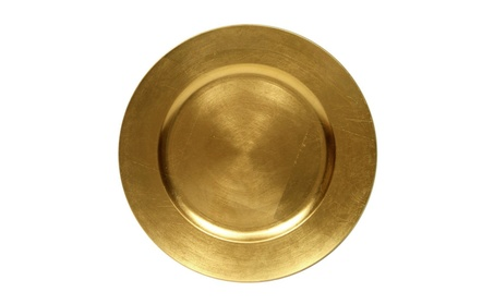 Round Charger Dinner Plates, Gold 13 inch, Set of 6 808c5bb3-0a2c-490b-bcc9-505254bcfa32