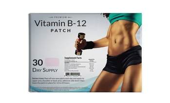 Premium Grade Vitamin B12 Weight Loss Patch (30 Servings)
