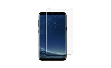Samsung Galaxy S8 & S8 Plus - Curved Tempered Glass Screen Protector photo