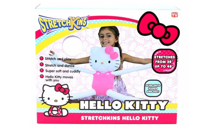 New Stretchkins Hello Kitty Stretch Plush Toy Groupon