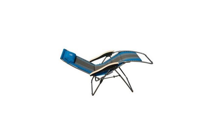 Fine Timber Ridge Oversized Xl Padded Zero Gravity Chair Groupon Creativecarmelina Interior Chair Design Creativecarmelinacom