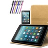 """Folio Magnetic Leather Cover Case For Amazon  Fire 7"""" 2017 7th Gen"""