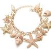 Marine Shells Bohemian Tidal Charm Bracelet for Women