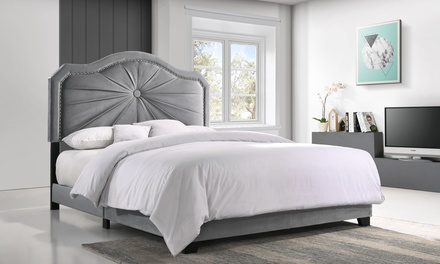 Embla Luxe and Glamour Bed - Full, Queen and King