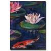 Sheila Golden 'Lily Pond' Canvas Art