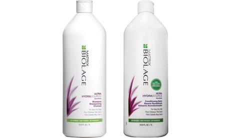 Matrix Biolage Ultra Hydrasource Shampoo & Conditioner Liter Duo