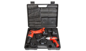 Stalwart Combo Cordless Drill and Driver (74-Piece)