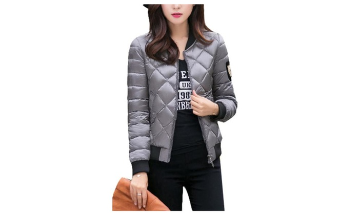 Women's Casual Solid Long Sleeve Insulation Down Coat