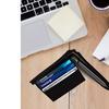 AFONiE Zip-Around Leather Wallet