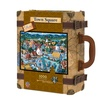 Collector's Edition Town Square Suitcase Puzzle: 1000 Pcs