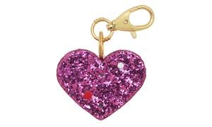 Ahh-larm Personal Alarm Pink Heart Keychain